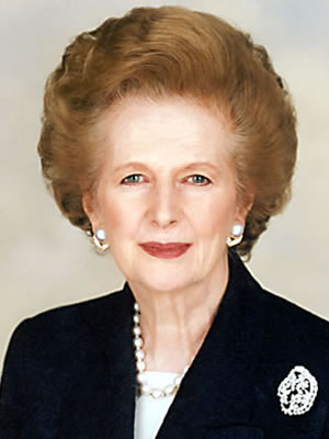 Image of Margaret Thatcher