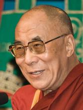 Image of the 14th Dalai Lama
